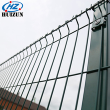 Powder Coated Triangular Fold Welded Wire Mesh Panel Fencing