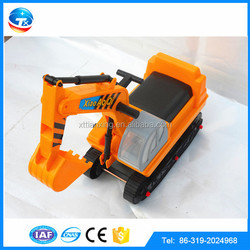 PASSED ISO9001:2000 Manufacturer Electric Toy Cars for Kids to Drive Toy Tanks Excavator Model For Children