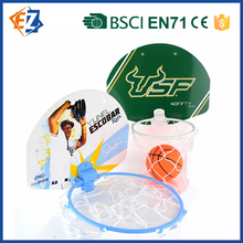 Cheap and Mini Plastic Basketball Pole and Backboard for Kids