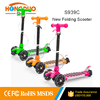 21st 3 wheel kick scooter for children,children push scooter with kickboard