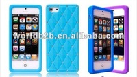 Newest Luxury Diamond Multi-color Silicone case for Apple Iphone 5 5s