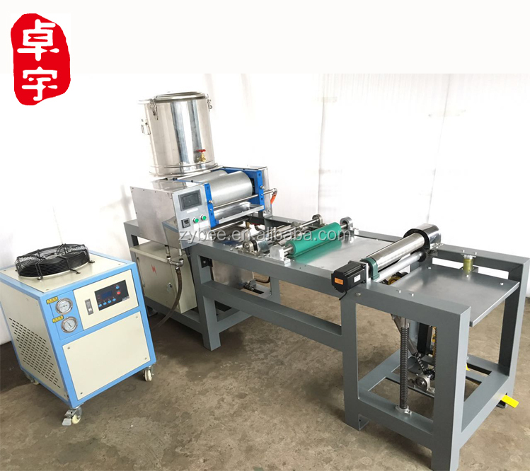 full automatic beeswax foundation machine operate efficiently