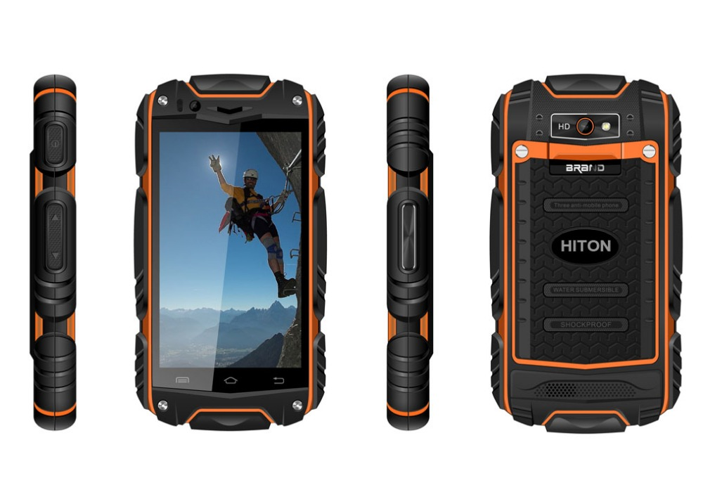 Discovery cellular phablet dual-core Android 4.2 GPS+3G 4 inch phone rugged
