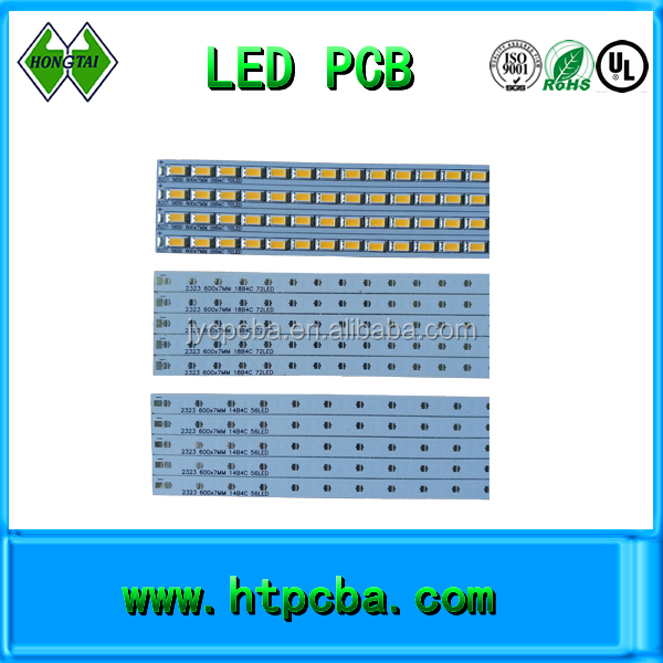 Aluminum base led light printed circuit board,led tube pcb for led street light,OEM manufacturer