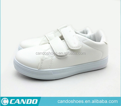 Cheap Wholesale Popular PU Leather Covering Double Hook and Loop Fasterner baby shoes in bulk From China Shoes Factory