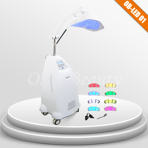 pdt (led) skin care machine for wound healing machine