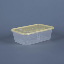 clear plastic lunch box injection mold box eco-friendly food container
