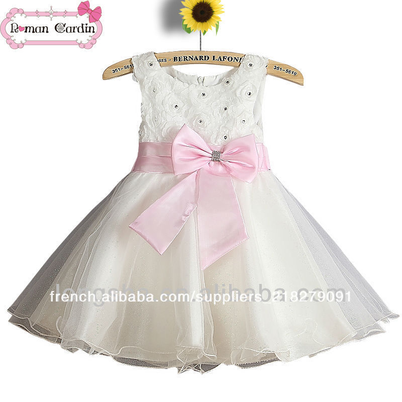 Robe ceremonie bebe fille tati