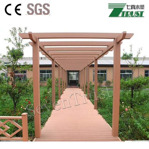 Fancy waterproof the top quality pergola for garden decoration