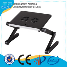 Light weight hot sale popular factory supply simple style popular portable foldable laptop table for bed