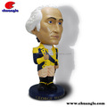 Customized bobble head factory, polyresin bobble head,resin bobble head