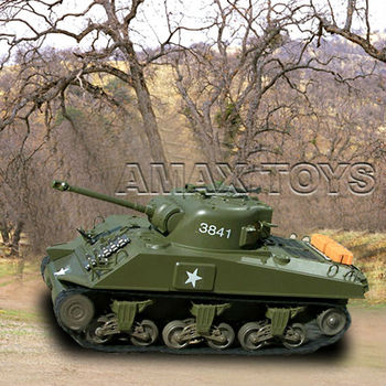 rb-3841-01 rc sherman tank 1:32 remote control tank for kids