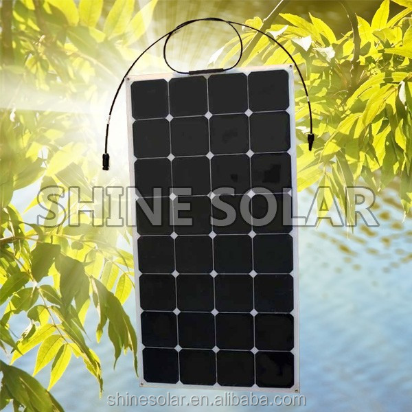 Amazing!Ready goods new energy fabric monocrystalline polycrystalline silicon flexible solar panel for 2015