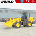 W156 5Ton wheel loader with pallet fork with 3m3 bucket capacity