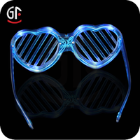 Arts And Crafts Hot New Products For 2015 Plastic Flashing Light Up Led Glasses