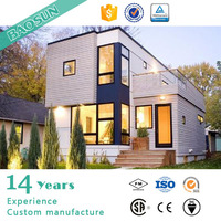 High Preformance decorated and thermal insulation Container house