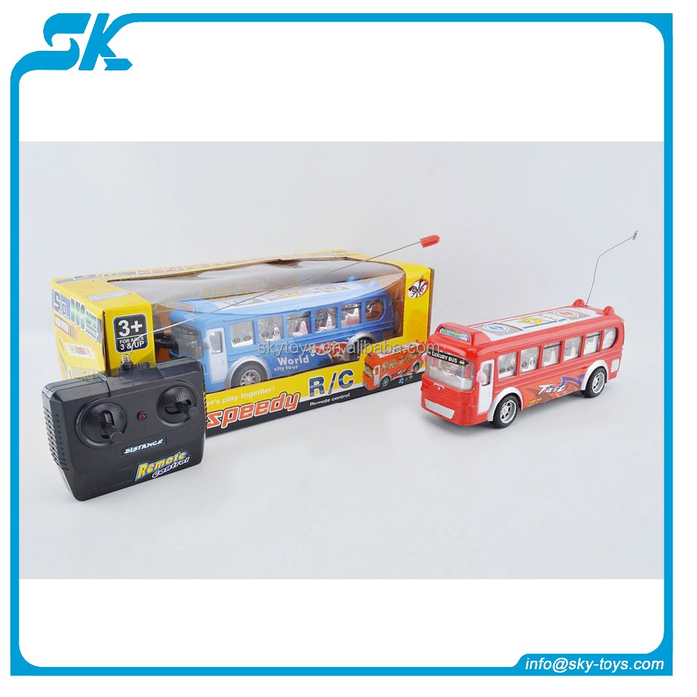 good quality rc toys remote control bus toy