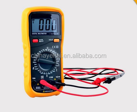 High quality Protable Digital multimeter YH117 with standard