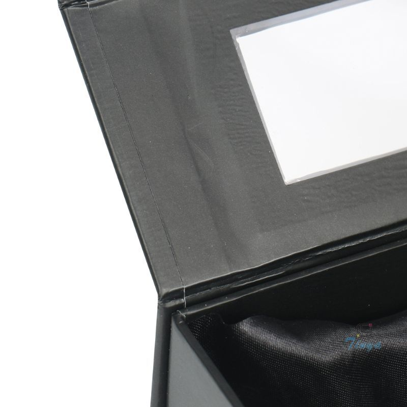black window paper perfume packaging box