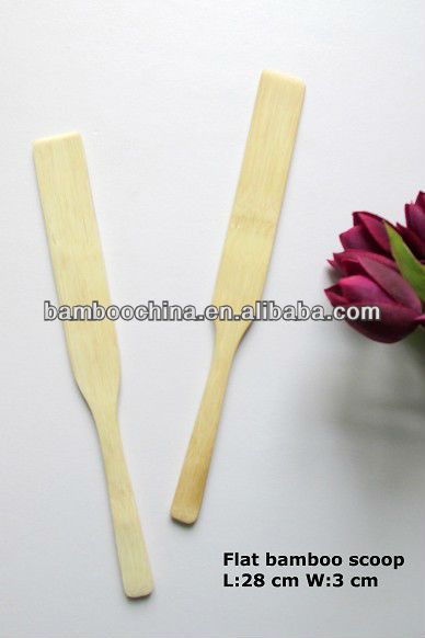 bamboo kitchen tool scoop