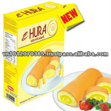 Hura Butter Milk layer cake 180g/box FMCG products