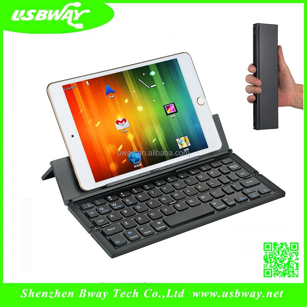 High Quality Aluminum Bluetooth Keyboard,Wireless Keyboar with stand