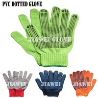 Polka Dot Cotton Glove Dotted Cotton Glove/Guantes De Algodon 043