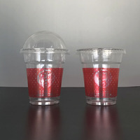 Customization 8 Ounces / oz PLA Cup Biodegradable Smoothie Cups PLA