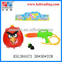 funny plastic cartoon backpack spray water gun for sale
