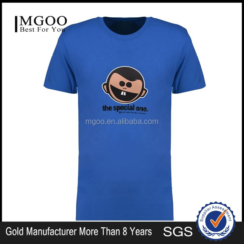 Mgoo high quality custom print tee shirts screen print for High quality custom shirts