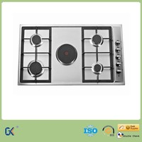 Home Kitchen Appliance 5 Burners Electric and Gas Stove Image
