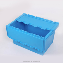 High quality 100% virgin PP plastic logistic tote box with lids
