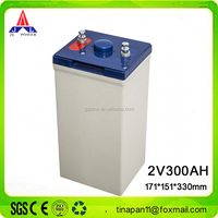 JALON sealed lead acid vrla battery 2v 300ah