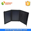 High power conversion 7w foldable solar charger mobile solar power bank