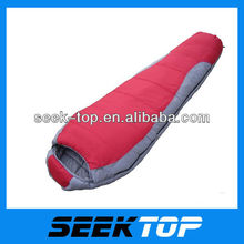 professional outdoor adult mummy cotton fashion waterproof sleeping bag
