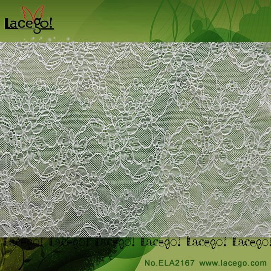 Wholesale Warp Knit Raschel Lace Fabrics African Dry Swiss Voile Discount Fabric