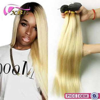 Ombre Straight Human Hair Virgin Brazilian Tape Human Hair Extensions