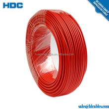 Heat resistant silicone insulated flexible cables,Flexible Cable H07VV-K 2.5mm2