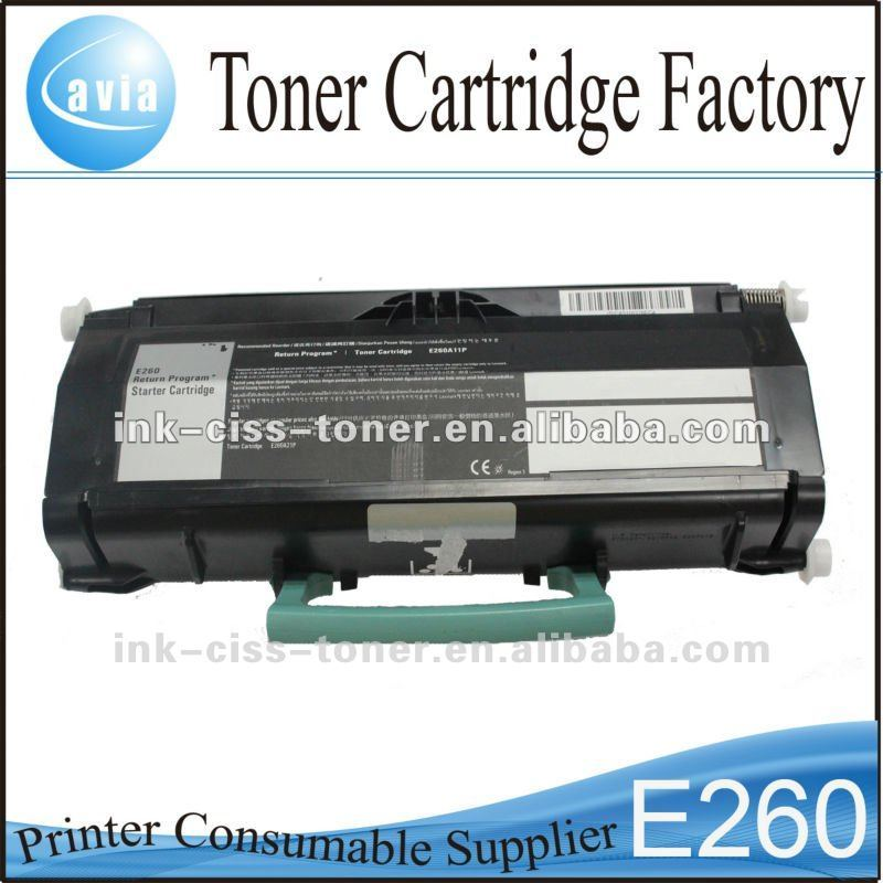 Remanufactured Printer drum cartridge for Lexmark e260