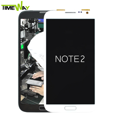 High quality case for iphone 6 for samsung note 2 n7100 lcd touch screen
