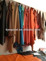 Cow finished leather, Natural cow leather, Cow Grain leather BSS2255