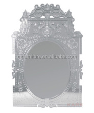 big romantic venetian project wall mirror/Murano glass wall mirror