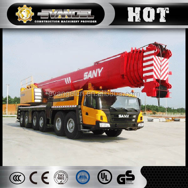 SANY 300 ton all/rough terrain mobile crane SAC3000