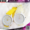 Colorful Silicone Jelly Cute Girls SS.Com Watch