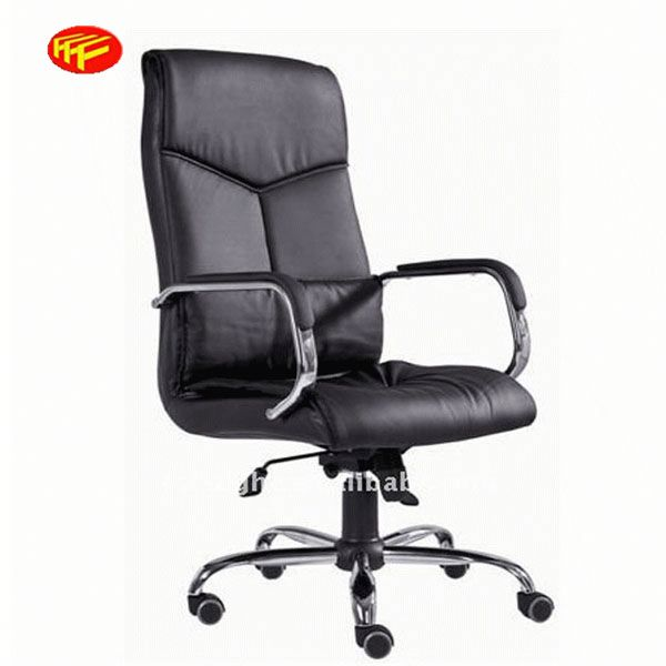 black leather executive chair office chair armrest cover 311