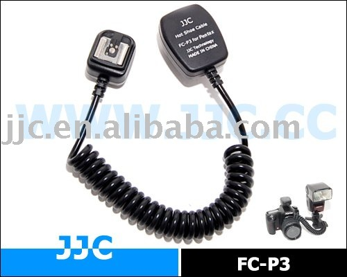 JJC TTL Off-Camera Shoe Cord for one PENTAX Speedlite used off-camera