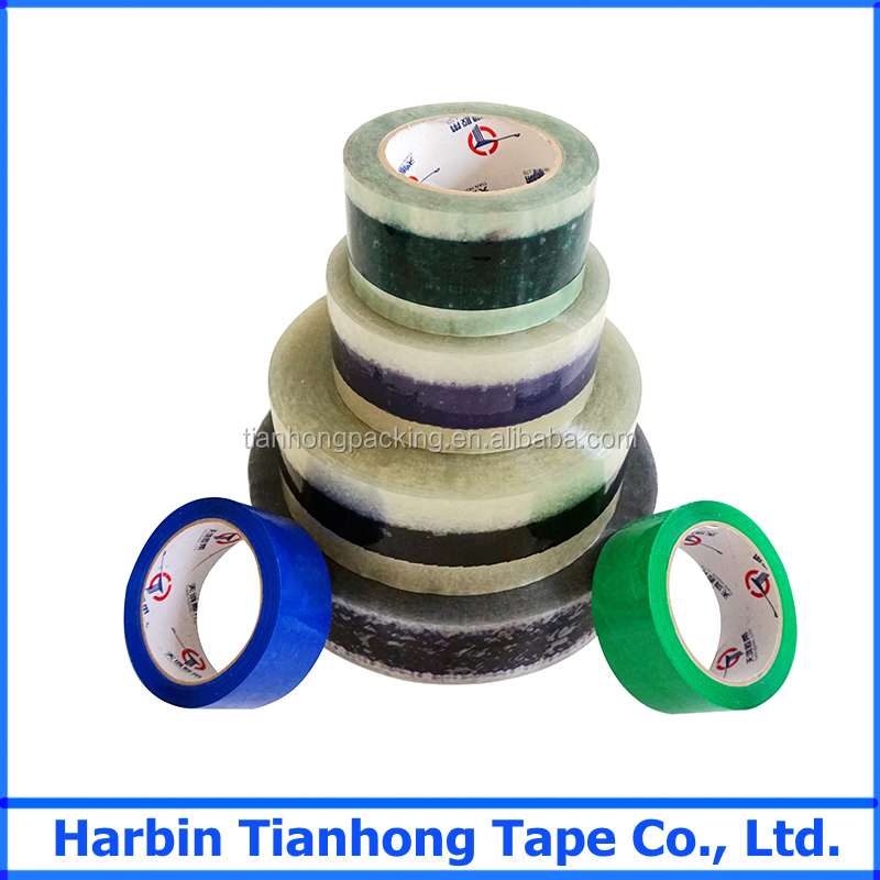 Alibaba china manufacturer paper box packaging self adhesive bopp tape jumbo roll jumbo roll pvc tape