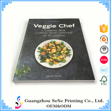 China Supplier customized soft cover cooking book recipes printing