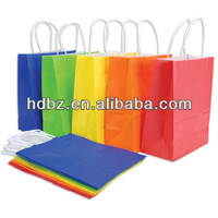 folding pp plastic gift bags making raw material