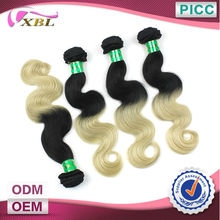 Two Tone 5A+ XBL Wholesale Price Malaysian Hair Weave Bundles